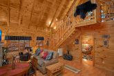 Pigeon Forge Cabin with Master on Main Level