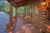 Pigeon Forge Cabin with Rocking Chairs on Deck