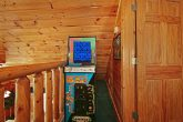 Cabin with Pac Man Game