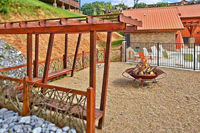 Cabin with Resort Firepit Access - R & R
