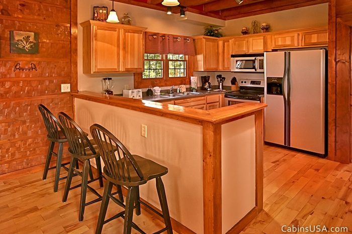 Great Kitchen with Additional Bar Seating - R & R