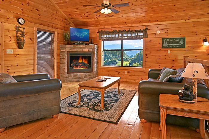 Living Room in Main Level/Top Level - Rest Assured