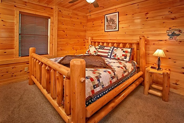 Cabin with King Bed - Rest Assured