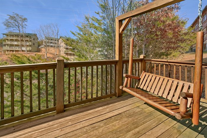 Porch Swing with Views - Rest Assured