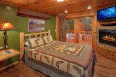 6 Bedroom Cabin Sleeps 20 Fireplaces in Bedrooms