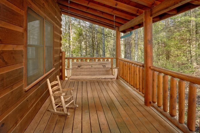 3 Bedroom Cabin with Porch Swing - Sassy Lady