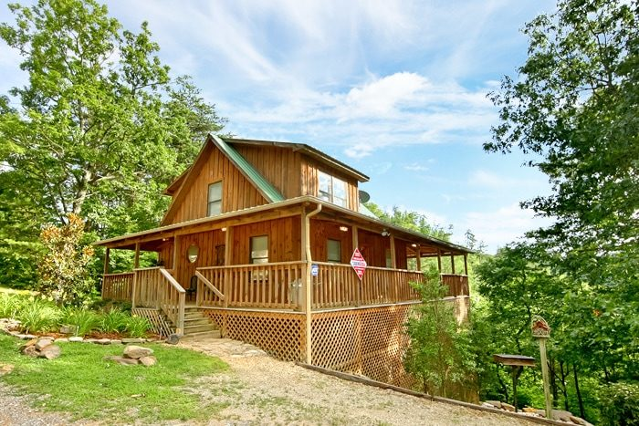 1 Bedroom Cabin in Pigeon Forge near Dollywood - Serenity Ridge