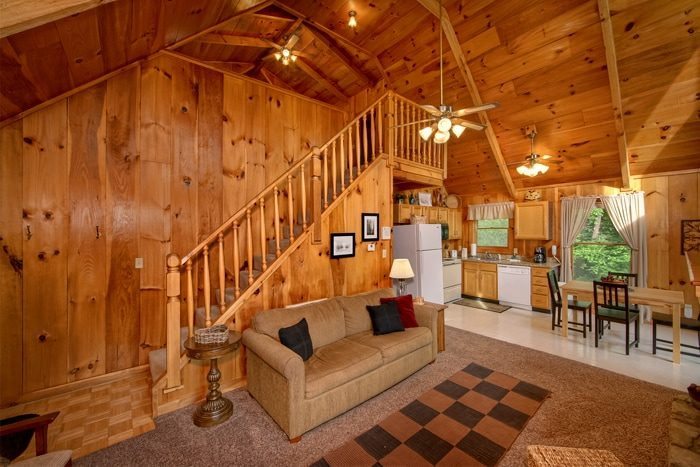 Smoky Mountain Cabin that is Full Furnished - Serenity Ridge