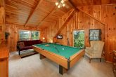 1 Bedroom Cabin with a Game Room with Pool Table