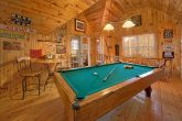 Cabin with Game Room and Pool Table and View
