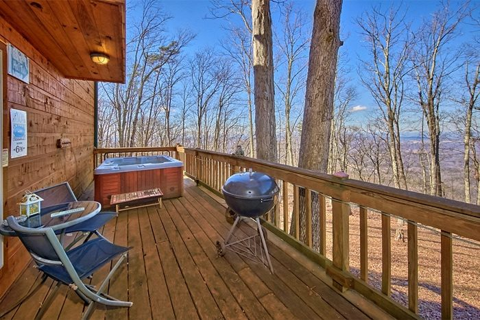 Luxury One Bedroom Cabin with Mountain Views - Sky High Hobby Cabin