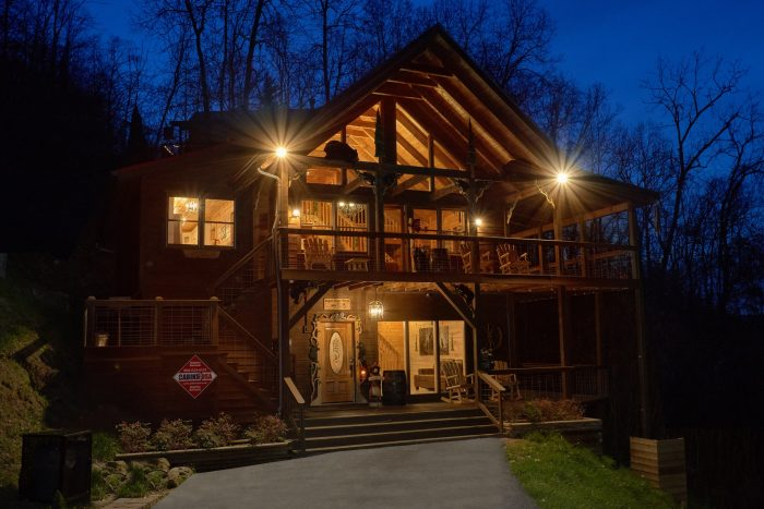 Sugar Bear View Cabin Rental Photo