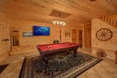 Pool Table Lower Level Game Room
