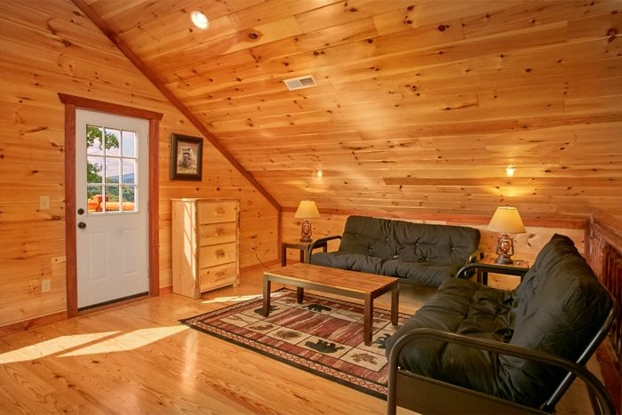 Large Premium Cabin with Four Futons - The Preserve