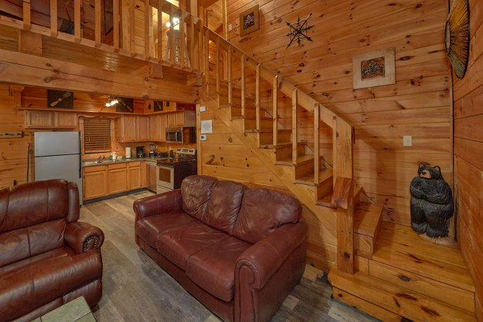 2 Bedroom Cabin with Luxurious King Bed - The Waterlog