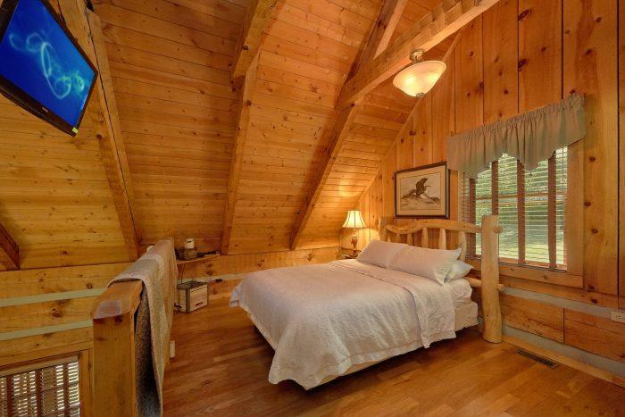 Wears Valley Cabin with a loft - Turtle Dovin'