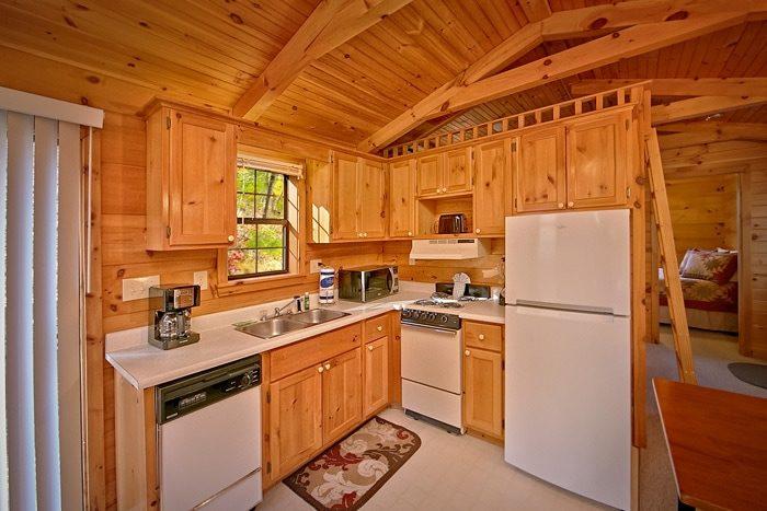 Honeymoon cabin with fully stocked kitchen - Wonderland