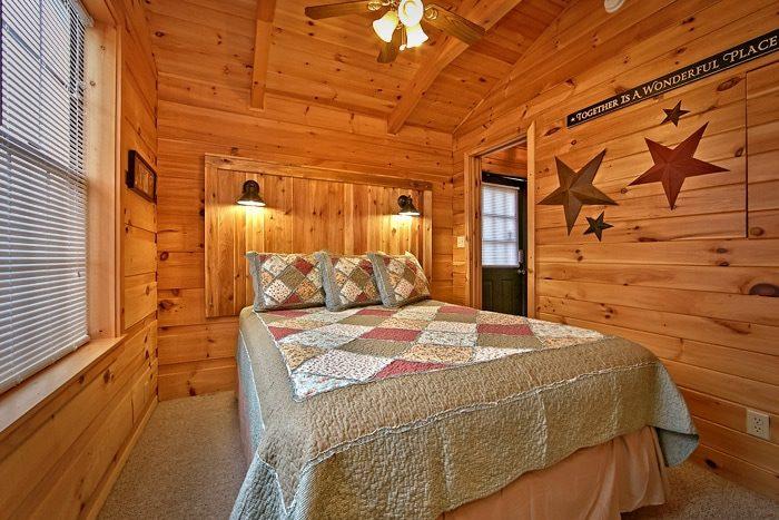 Cabin with Queen bedroom - Wonderland