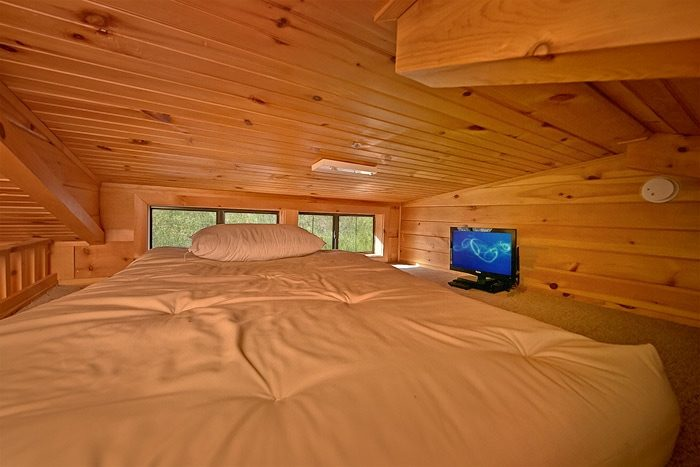 Cabin with Kid Loft and personal TV - Wonderland